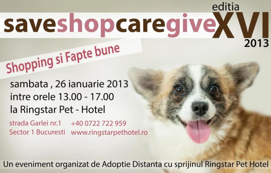 Save&Shop, Care&Give, editia XVI